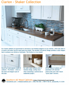 Southern All Wood Cabinets